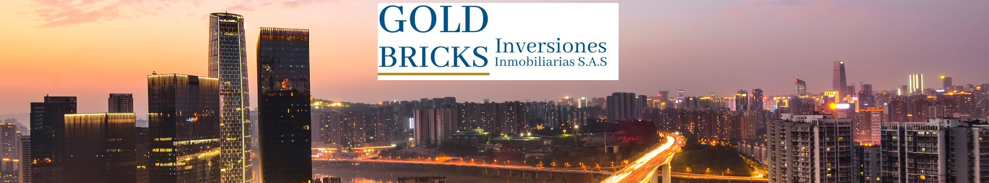 Micrositio de GOLD BRICKS Inversiones